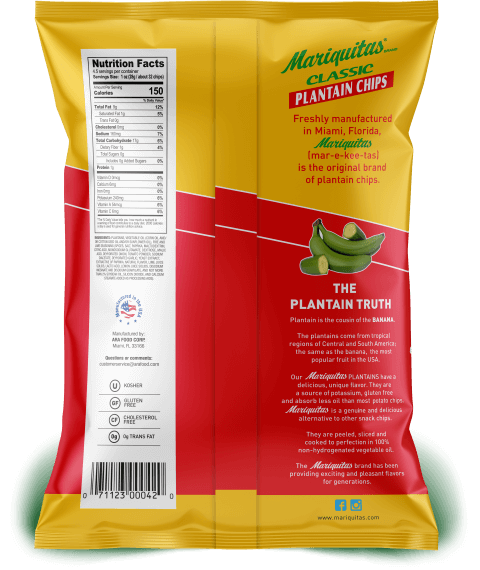 Mariquitas Fire & Lime packaging back side