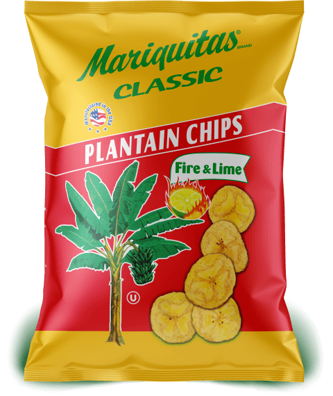 Mariquitas Fire & Lime packaging front side