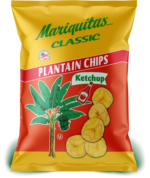Mariquitas Ketchup packaging front side