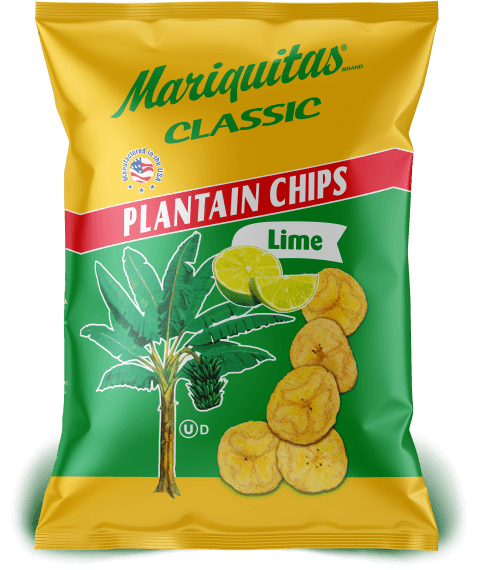 Mariquitas Lime packaging front side