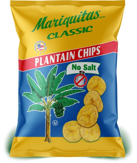 Mariquitas No Salt packaging front side