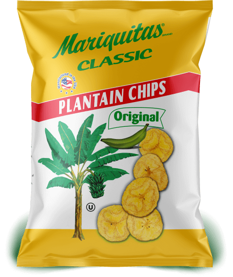 Mariquitas Original packaging front side