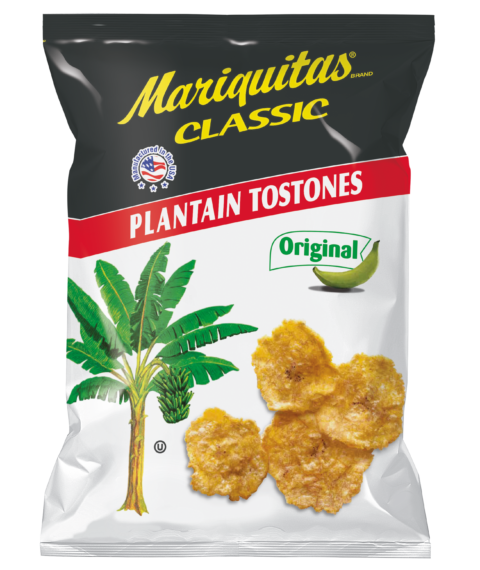 Mariquitas Tostones packaging front side