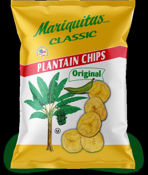 Mariquitas Original packaging front side